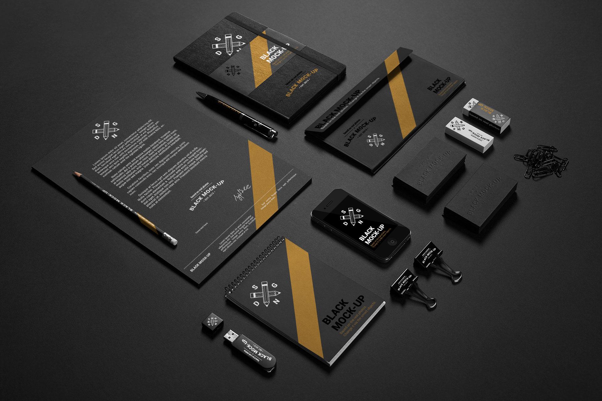 Dark Branding Set 1
