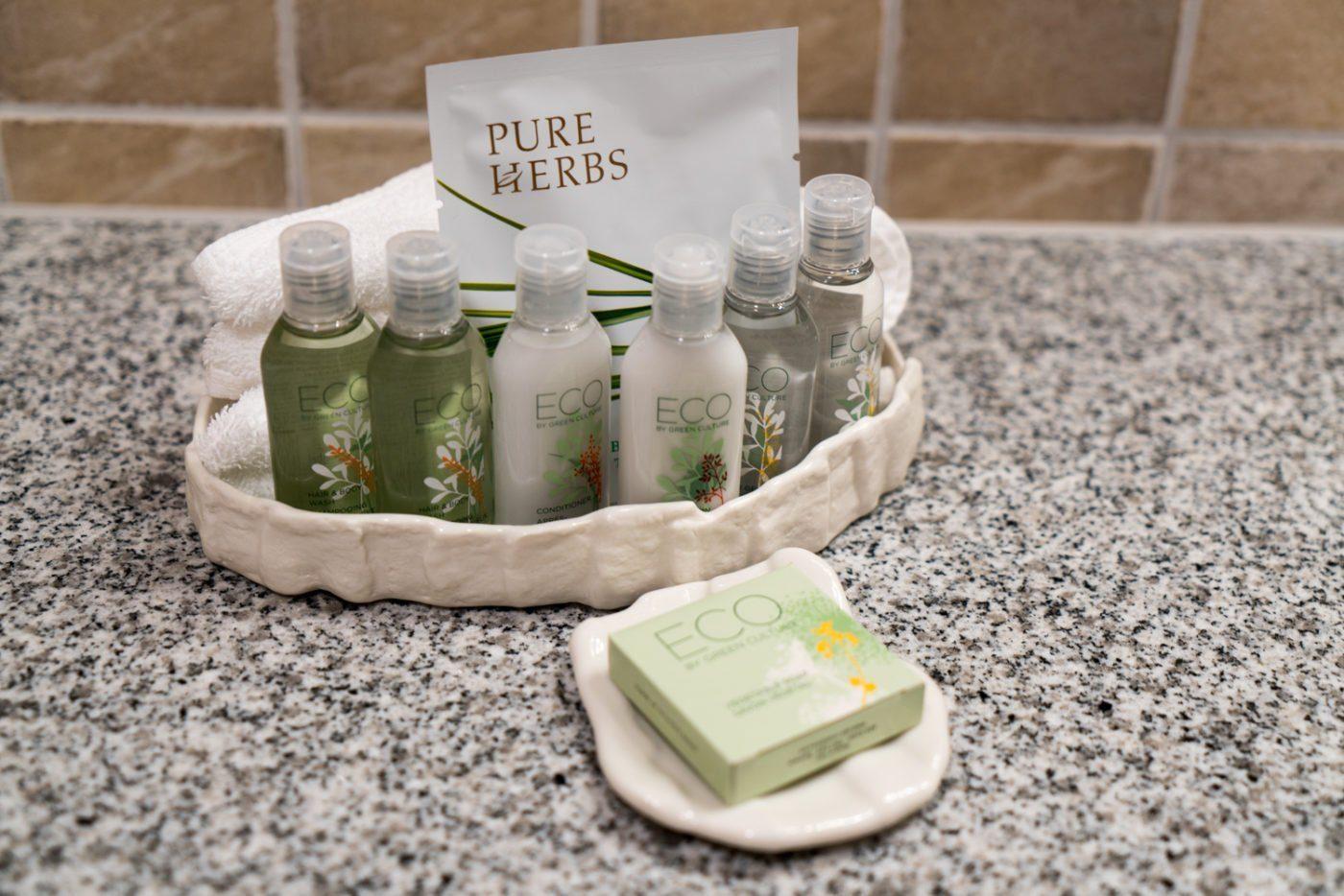 eco-friendly products at Hotel Ranga