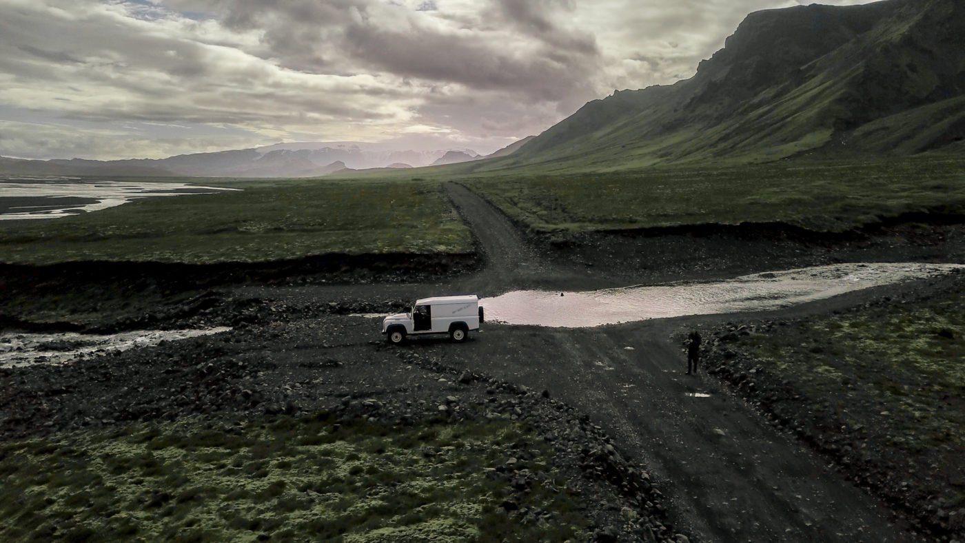 classic river crossing in F249