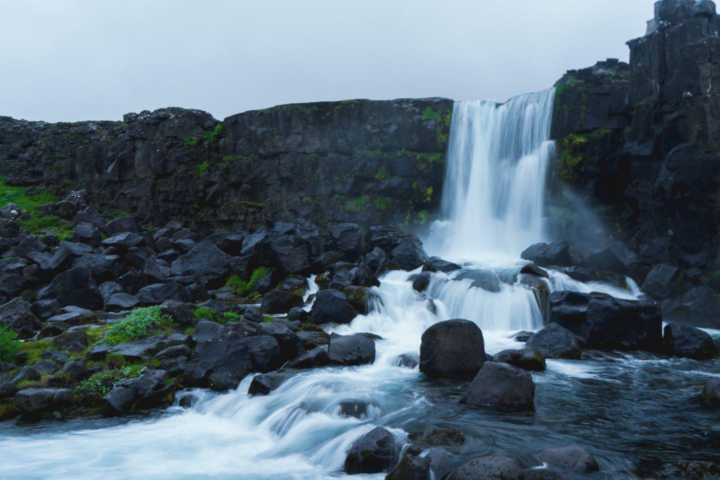 Öxararfoss in Thingvellir national park