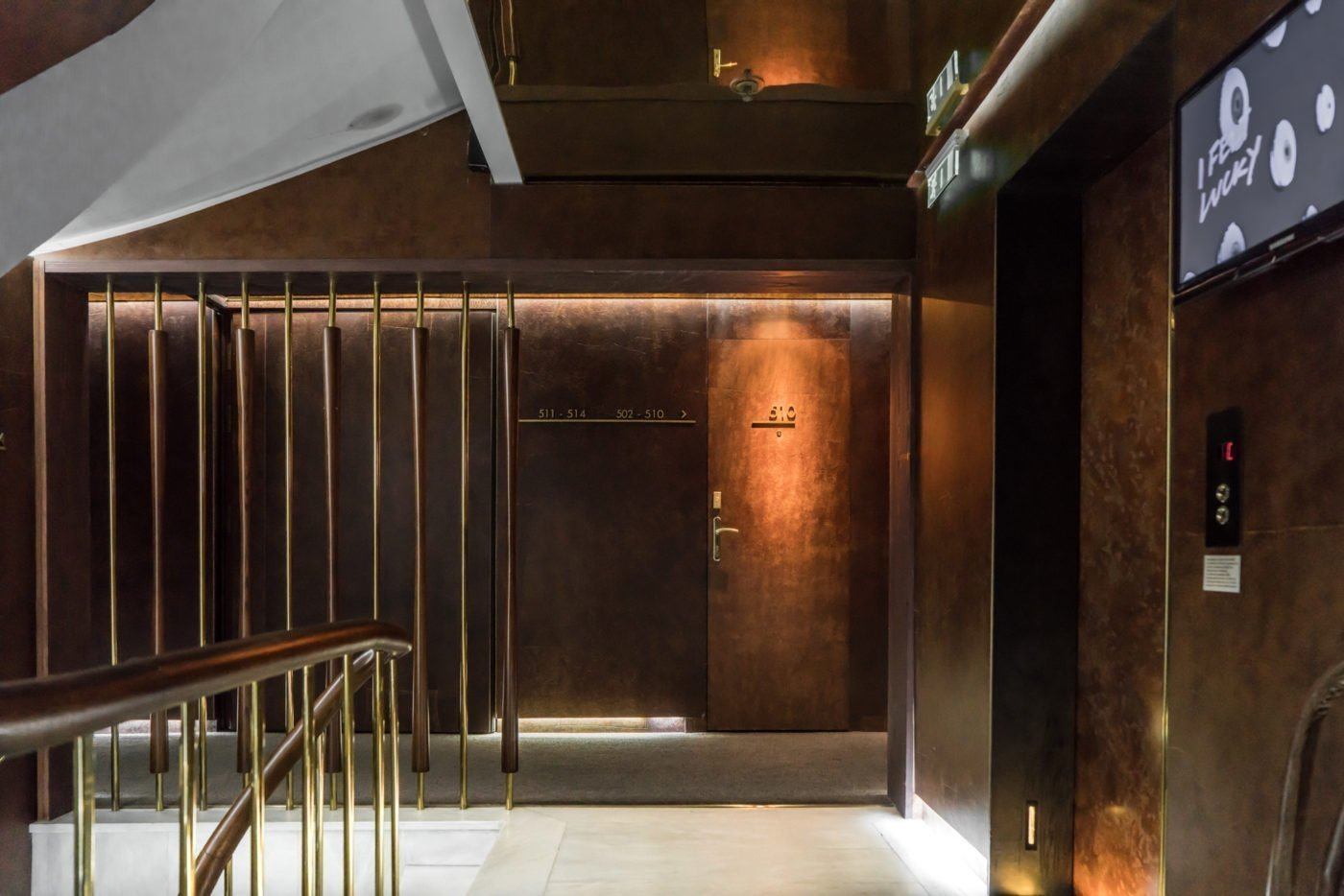 Hallway of NEW Hotel Athens