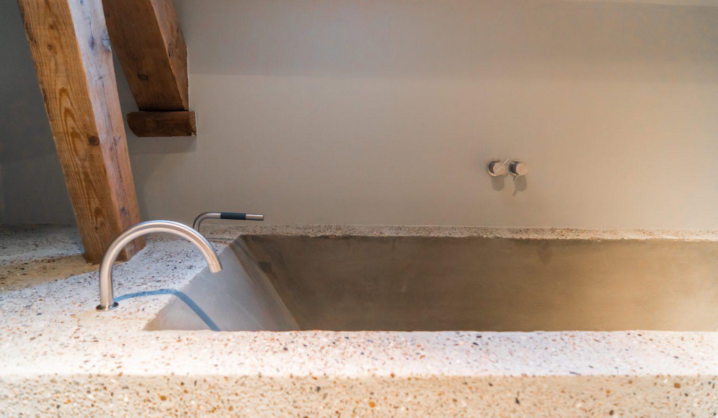 concrete bath!