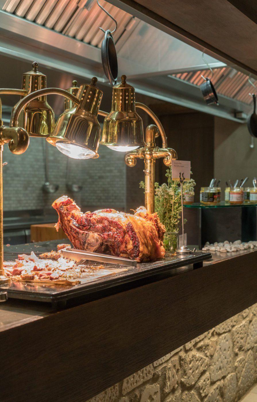 The Romanos buffet restaurant
