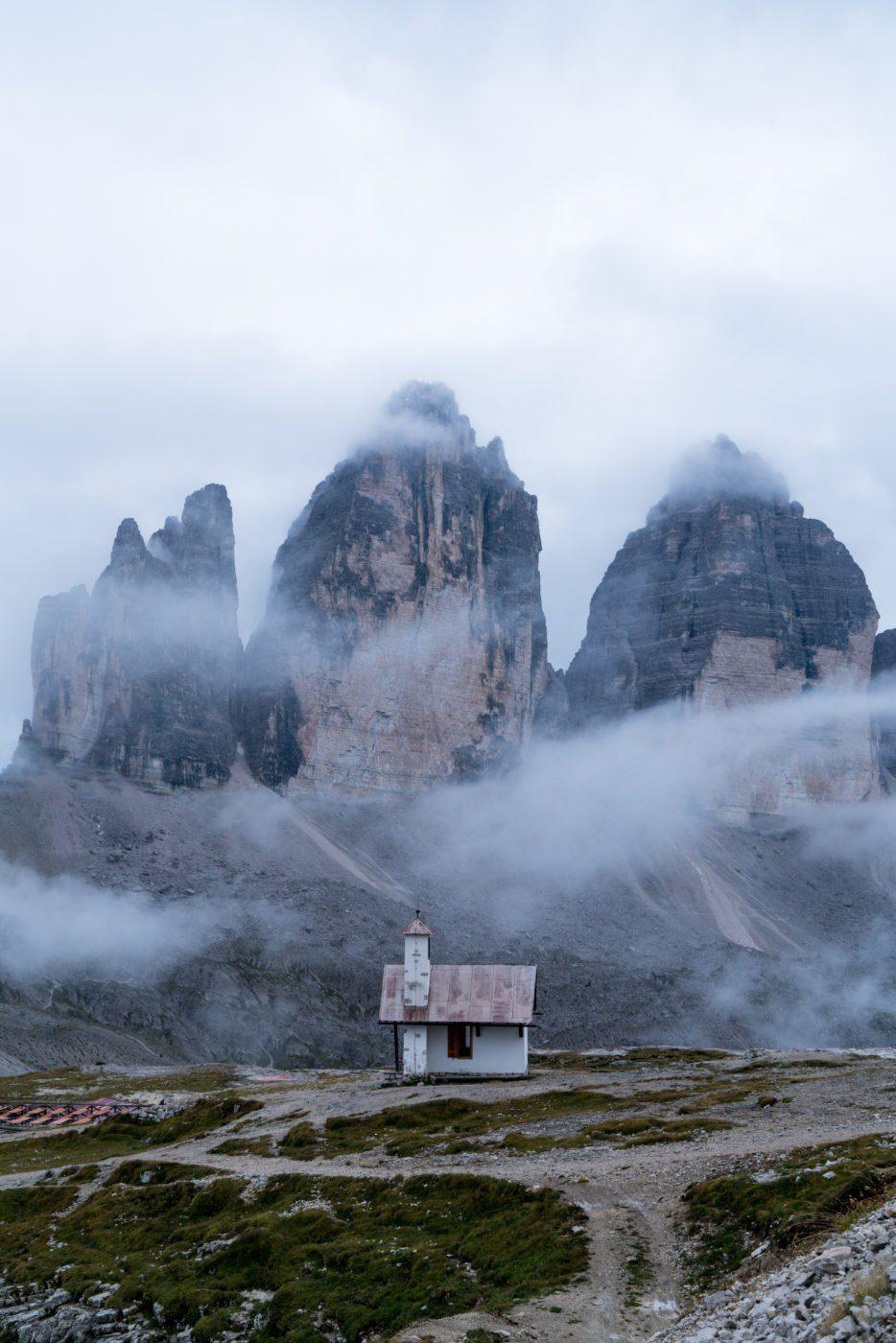Tre Cime, Drei Zinnen, famous Instagram spot in the Dolomites