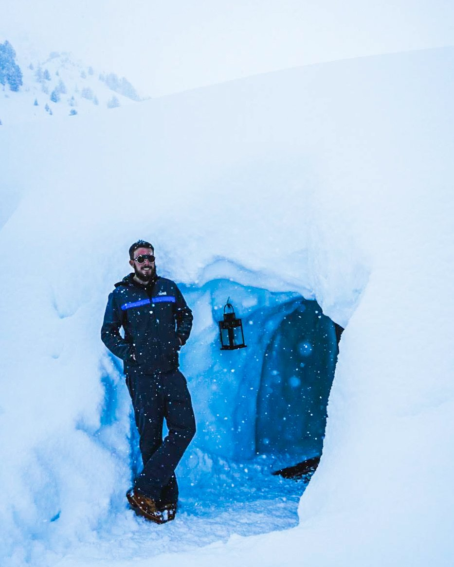 Mountain Igloo Speikboden, Ahrntal, South Tyrol
