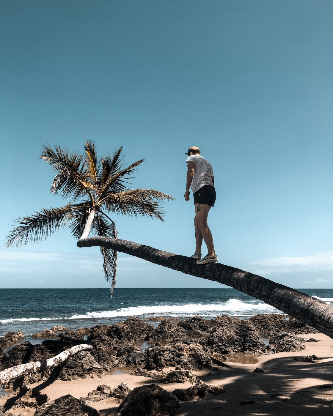 empty beach in Dominican Republic
