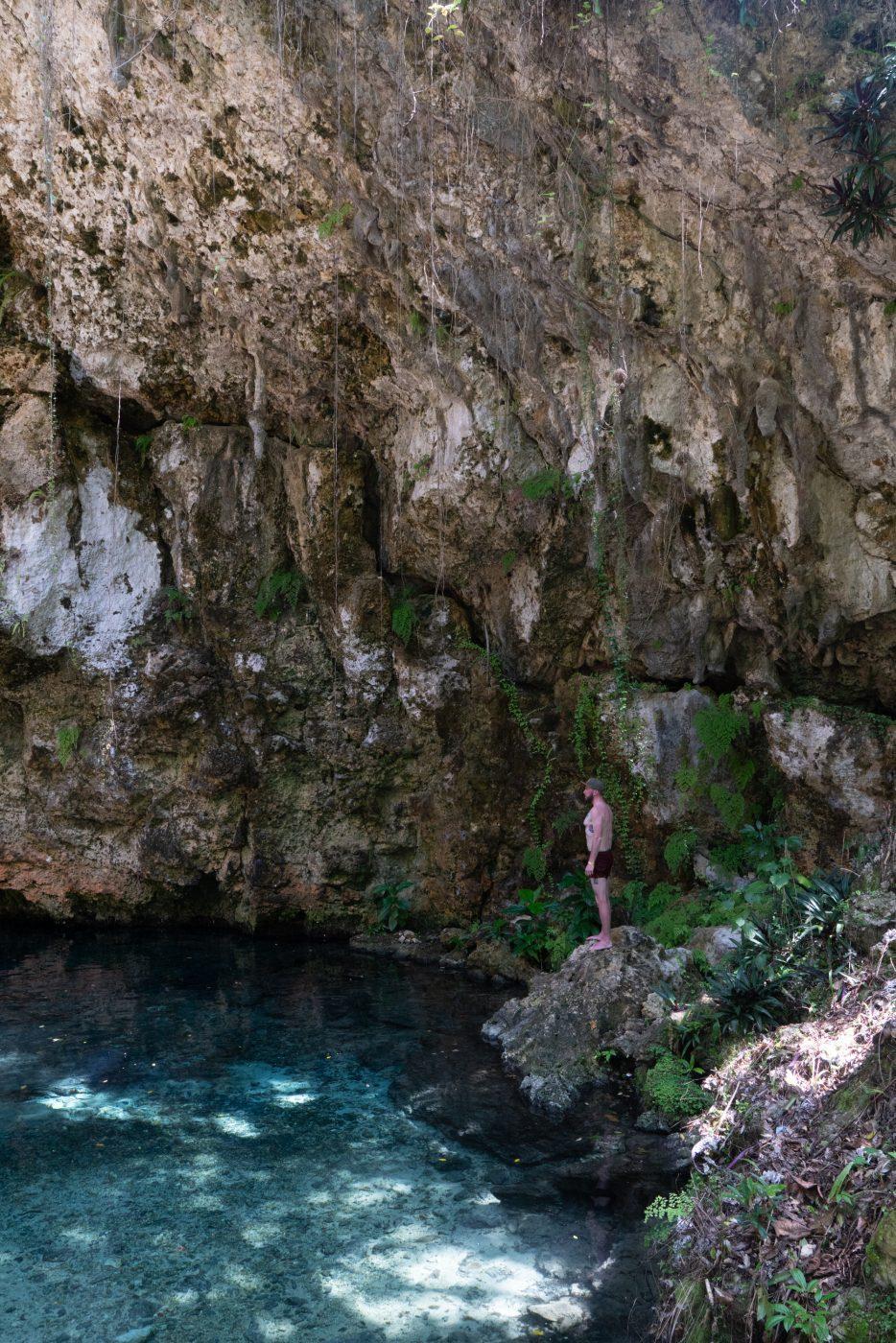 Lago Azul, not far from Laguna el Dudu, Dominican Republic