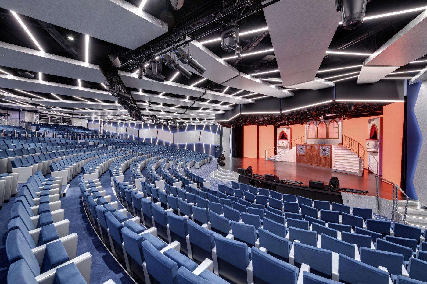MSC Grandiosa, Théâtre La Comédie